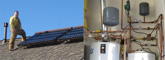 Unlike radiant heating hot water is used year round. Savings are multiplied for those using propane or electricity to heat water. Solar hot water is clean ... & Solar Hot Water